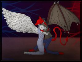 Heaven and Hell by CometKilljoy6661