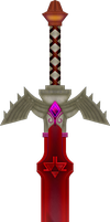 Dark Master Sword by BLUEamnesiac