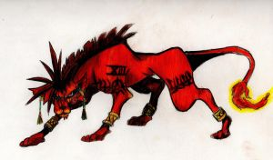 RED XIII by lionheart010
