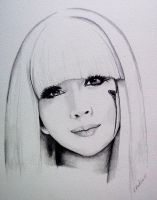 Lady gaga poker face by tint-tone