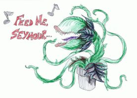 Feed me, Seymour... by Nandah