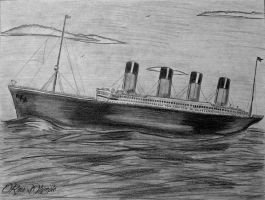 103 Year Anniversary - RMS TITANIC by RMS-OLYMPIC