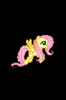 Fluttershy iOS Boot Logo by tanmanknex