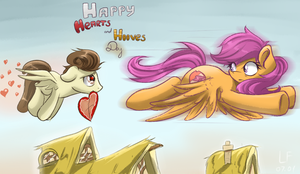 Happy Hearts and Hooves Day (2017) by RedheadFly