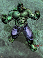 The Incredible Hulk by Iconyx11