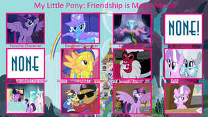 My Little Pony Controversy Meme. In My Way by Cyber-murph