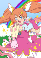 Hanging out with the Long Bunnies by Karmillina