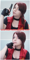 RE DC Game of Oblivion preview cosplay by VickyxRedfield