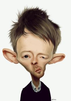 Thom Yorke by manohead