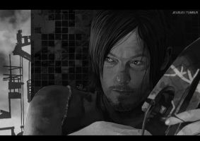 -Daryl Dixon- by obsceneblue