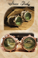 steam punk goggoes by poetzy
