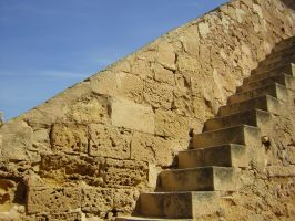 Castle_stairs by Adaae-stock