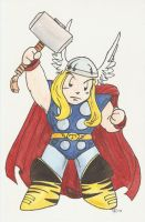Thor by AmberStoneArt