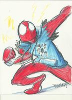 Scarlet Spider by kross29