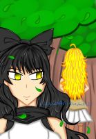 Bumblebee_Smile Behind You (colored) by Xillia0108