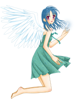 Eternal Angel ..::Colored::.. by MizuuHime