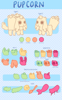 + Pupcorn Guide (Closed Species) + by MellowKun