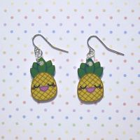Yummy Pineapple Earrings by Panduhmonium