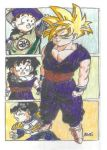 Gohan's time line by The-Son-Family