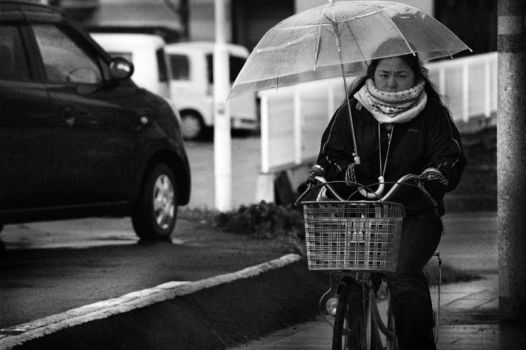 Riding in the Rain by LiamTown