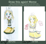 Draw This Again Meme- Rin by Freak-of-Games