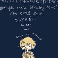 . Shut up, Sherlock . by LittleLaceDress