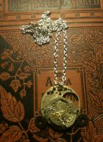 Shattered Time Necklace by LeviathanSteamworks