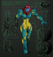 Metroid Fusion Sequel by AIBryce