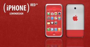 RED iPhone icon by lemondesign