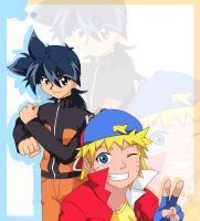 BBxN - Naruto and Tyson by Kelsea-Chan