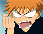 Kyo angry by Tohru24kyo