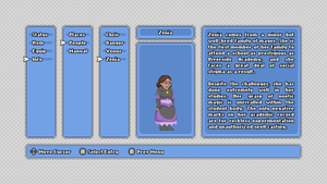 Zenia In-Game Profile Mockup by JohnColburn