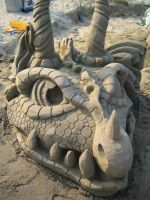 Sand Dragon Front by Suzuko42