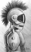Punk Cyborg? by DiabolicalSquid