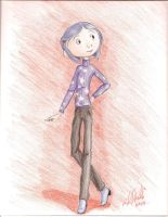 Coraline-Model Pose by unigirl-cloudghost