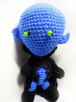 Megamind Crochet Doll by Nissie