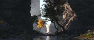 Just Another landscape prt. 16 by 3DLandscapeArtist