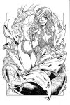 Poison Ivy inks by madman1
