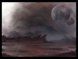 Concept landscape by MikkeSWE