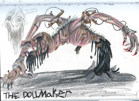 The Dollmaker Dragon by The-Nightmare-Doctor