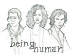 Being Human by Loralthea