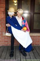 Howl Sophie and Calcifer by The-Cosplay-Scion