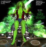 Tiffani becomes She-Hulk 19m by mercblue22