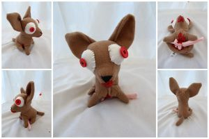 Zombie Chihuahua One by IckyDog