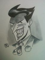 Joker head by ChrisFaccone