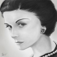 Coco Chanel by mikan36