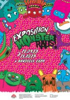 Poster Monster Raus by ensombrecer