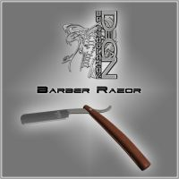 Barber Razor by DecanAndersen