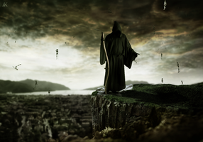 Death . . by Ali-Khateeb-gfx