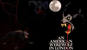 An American Werewolf in London (wallpaper) by TwistedTerrace